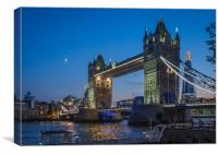 Tower Bridge, London, Canvas Print