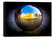 London Sphere, Canvas Print
