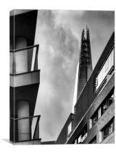 The towering Shard., Canvas Print