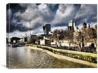 London SkyLine., Canvas Print