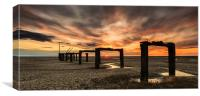 Long Lost Jetty, Canvas Print