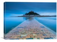 Causeway to the Mount, Canvas Print