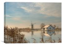 Mill House Morning, Canvas Print