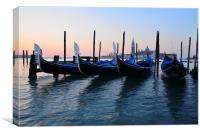 Venice Sunrise, Canvas Print