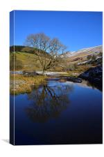 Brecon Beacons during the Winter, Canvas Print