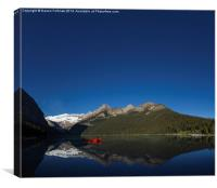Lake Louise, Banff National Park, Canada, Canvas Print