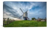 Wrawby Windmill, Canvas Print