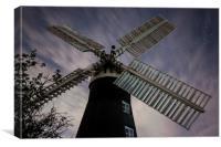 leverton wind mill, Canvas Print