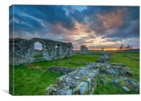Mattersey Priory, Canvas Print