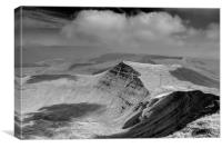 View from Pen-Y-Fan, Brecon, Canvas Print