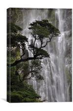 Devils Punchbowl Waterfall, Canvas Print