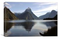Mitre Peak, Canvas Print
