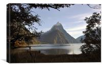 Mitre Peak, Milford Sound, Canvas Print