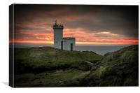 Elie Lighthouse, Canvas Print
