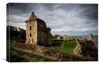 St Andrews Castle, Canvas Print
