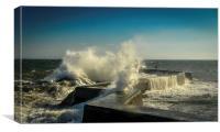 Sea Wall, Canvas Print