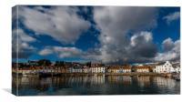 St Monans Harbour , Canvas Print