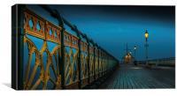 Penarth Pier, Canvas Print
