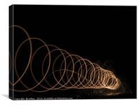 Looper 5, Canvas Print