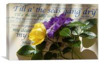 Till A' The Seas Gang Dry, Canvas Print