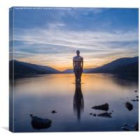 Still in Loch Earn, Canvas Print