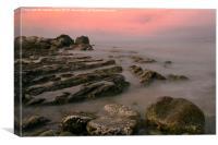 Rocky shores, Canvas Print