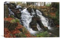 Virginia falls, Canvas Print