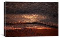 Sunrise At The Beach, Canvas Print