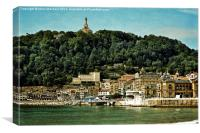 San Sebastian Spain, Canvas Print
