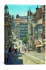 Streets of Porto - 2, Canvas Print