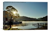 ' Early Morning Ullswater ', Canvas Print