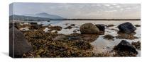 Whiting Bay Beach, Isle of Arran, Canvas Print