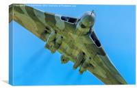 Avro Vulcan, Canvas Print