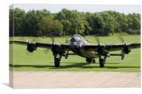 "Avro Lancaster ""Just Jane"", Canvas Print"