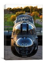 "Avro Lancaster ""Just Jane"" , Canvas Print"