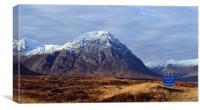 Glencoe Ski area, Canvas Print