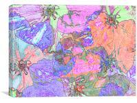 Shades of Summer #1, Canvas Print