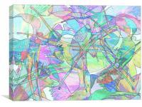 Shades of Summer #2, Canvas Print