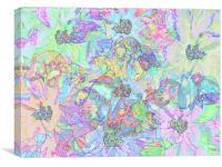 Shades of Summer #3 , Canvas Print