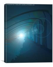 Light At The End Of The Tunnel #1, Canvas Print