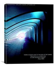 Light At The End Of The Tunnel #2 , Canvas Print