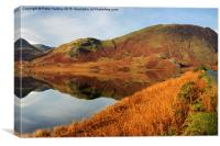 Autumn at Crummock Water, Canvas Print