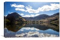 Buttermere in Spring, Canvas Print