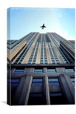 New York skyscraper, Canvas Print