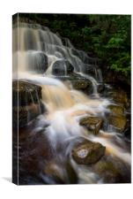 East Gill Force, Keld , Yorkshire Dales, Canvas Print