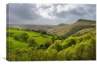 South Head, Hayfield, Peak District, Canvas Print