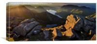 Dawn breaks over Buttermere, Canvas Print