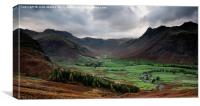 Great Langdale in the Lake District, Canvas Print