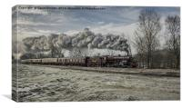 13065 at Ramsbottom, Canvas Print