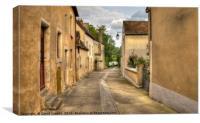 Noyen sur Sarthe, Canvas Print